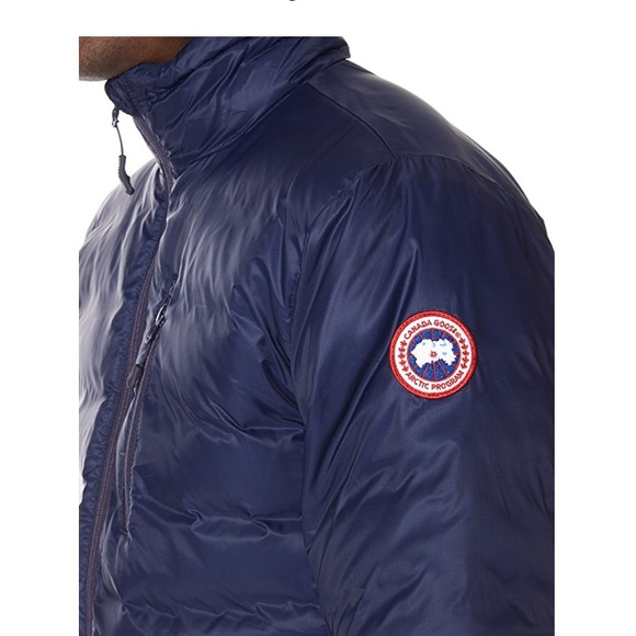 1ba6c8b1055f2 Canada Goose Jackets & Coats | Men Lodge Hood Down Jacket Spirit Blu ...